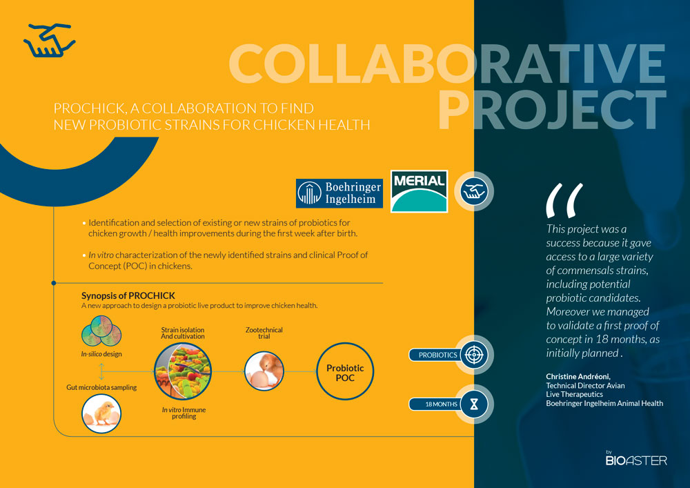 BIOASTER Collaborative Projects Examples