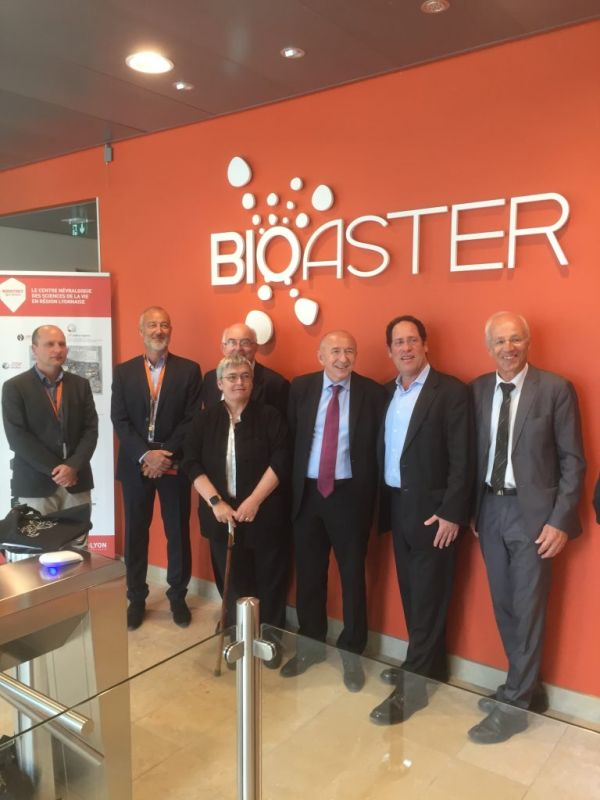 BIOASTER has been pleased to welcome a delegation of the Brookings Institution invited by Mister Gérard COLLOMB