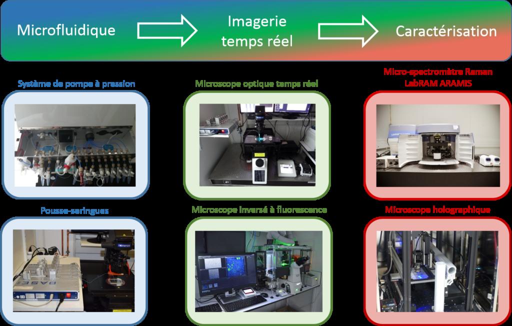 Image microfluidique graphique