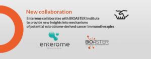New Collaboration Bioaster & Enterome