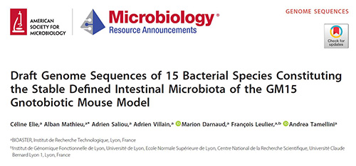 Microbiology Resource Announcements