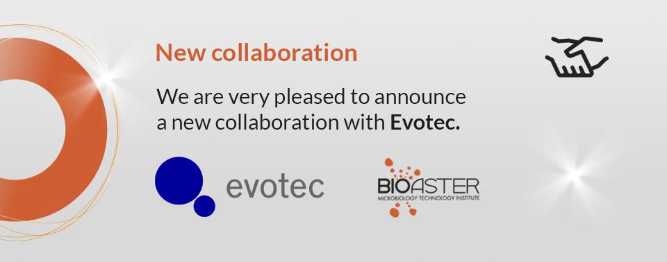 Bioaster, new collaboration, Evotec