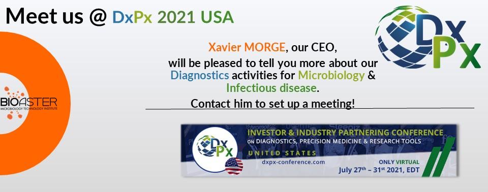 Meet us @ DxPx 2021 USA